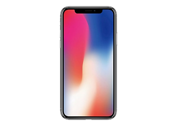 Apple Iphone X 5 8 Super Retina Hd 64gb Verizon Smartphone Silver Mqcl2ll A Cell Smart Phones Accessories Cdw Com