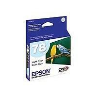 Epson 78 - light cyan - original - ink cartridge