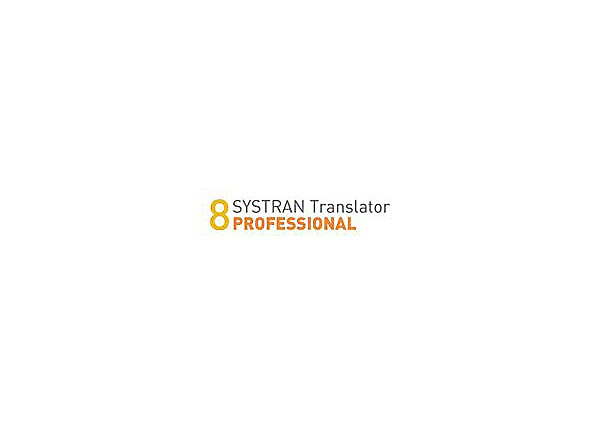 SYSTRAN Translator Professional - English-German (v. 8) - license - 1 user