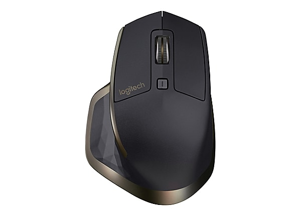 Logitech MX Master Wireless - mouse - Bluetooth, 2.4 GHz - meteorite