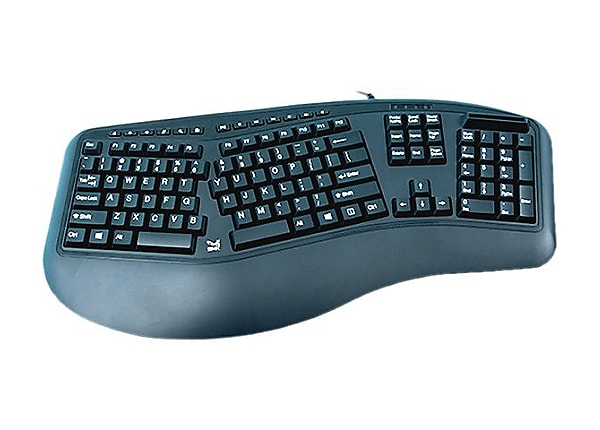 SMK-Link Electronics VP3827VP3827 - keyboard - with Smart Card reader - TAA