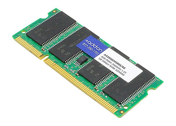 AddOn - DDR4 - module - 8 GB - SO-DIMM 260-pin - 2666 MHz / PC4-21300 - unb