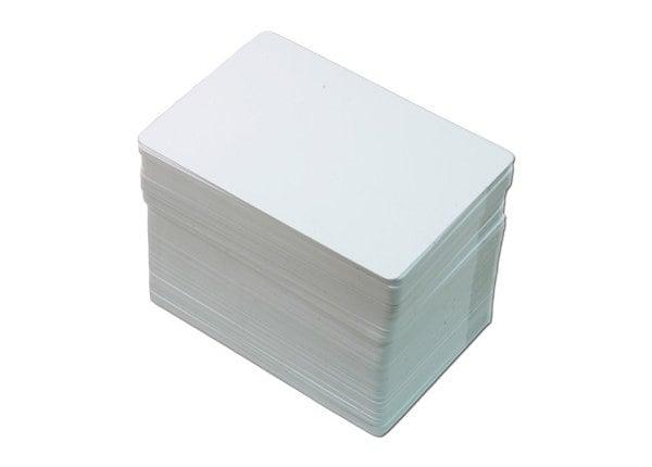Brady CR80 Standard 30mil PVC Card - White