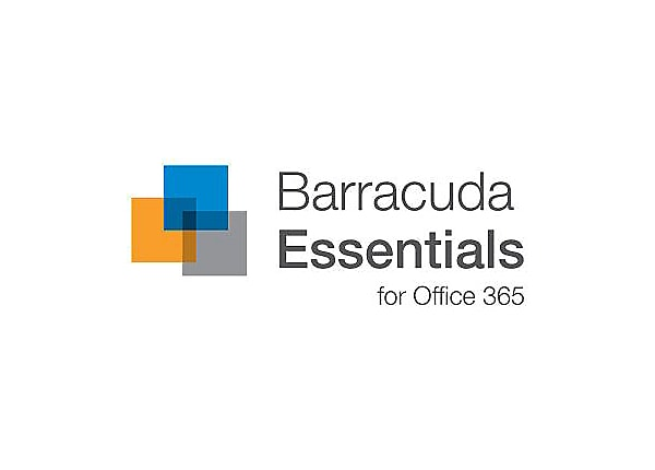 Barracuda Essentials for Office 365 Security Edition - subscription license (3 years) - 1 user