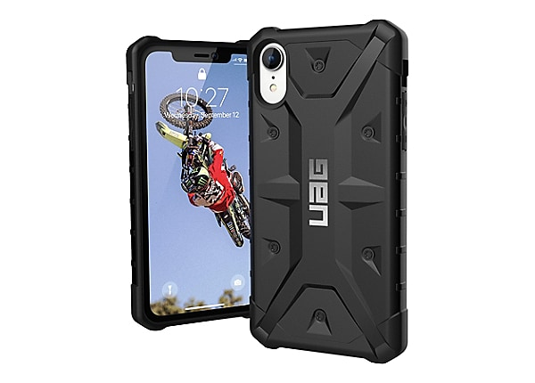 UAG Rugged Case for iPhone XR [6.1-inch screen] - Pathfinder Black - back c