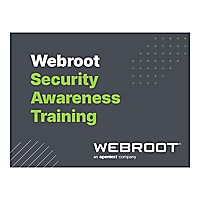 Webroot Security Awareness Training Business - subscription license (1 year