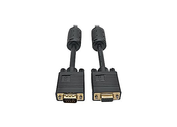 Tripp Lite VGA Monitor Extension Cable Coax High Resolution M/F 1080p 3ft