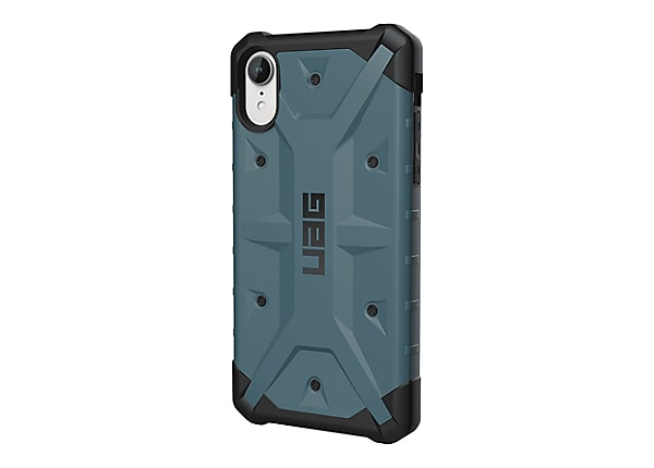 UAG Rugged Case for iPhone XR [6.1-inch screen] - Pathfinder Slate - back c