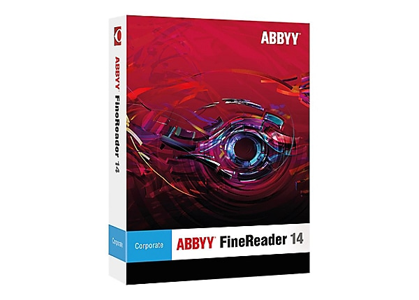 ABBYY FineReader Corporate Edition (v. 14) - box pack - 1 seat