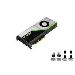 NVIDIA Quadro RTX 6000 - graphics card - 24 GB - Adapters Included