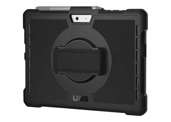UGA Outback Rugged Surface Go Case with Handstrap - Black