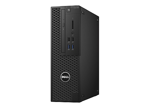 Dell Precision Tower 3420 - SFF - Xeon E3-1240V6 3.7 GHz - 16 GB - 256 GB