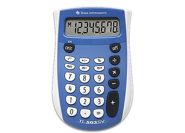 Texas Instruments Pocket-sized Durable Calculator