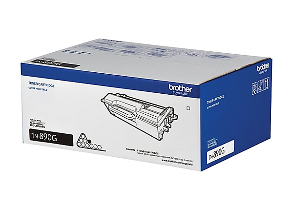 Brother TN-890G - Ultra High Yield - black - original - toner cartridge
