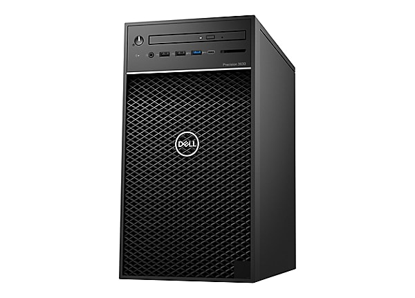 Dell Precision 3630 Tower - MT - Core i7 8700K 3.7 GHz - 16 GB - 512 GB