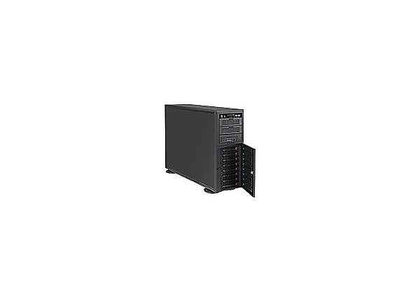 Supermicro SC743 AC-668B - tower - 4U - extended ATX
