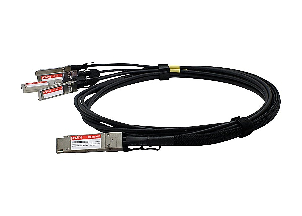 Proline 40GBase direct attach cable - TAA Compliant - 23 ft