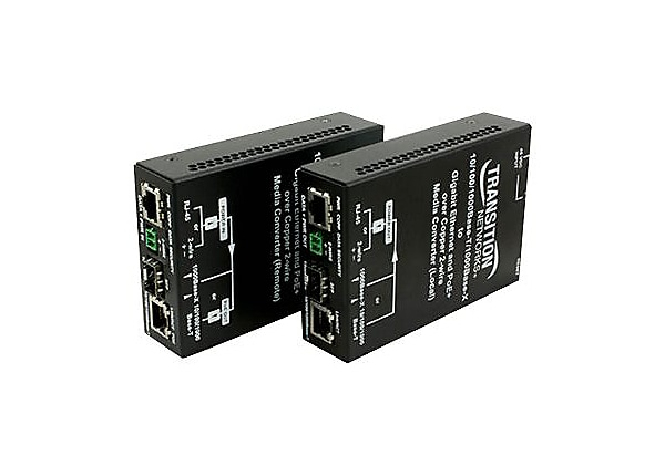 Transition Networks Ethernet Over 2-Wire Extender - Local - network extende