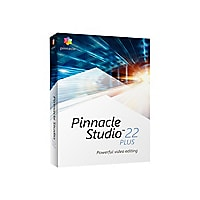 Pinnacle Studio Plus (v. 22) - box pack - 1 user