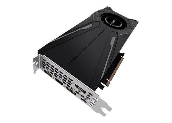 Gigabyte GeForce RTX 2080 Ti TURBO 11G - graphics card - GF RTX 2080 Ti - 1