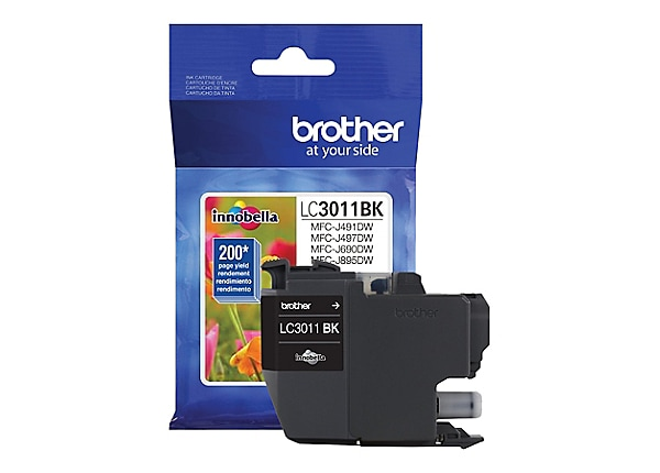 Brother LC3011BK - black - original - ink cartridge