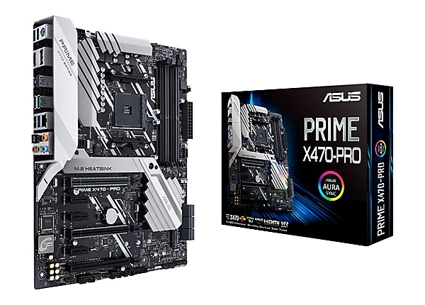ASUS PRIME X470-PRO - motherboard - ATX - Socket AM4 - AMD X470