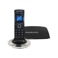 Sangoma DC201 - téléphone VoIP - à 5 voies capacité d'appel