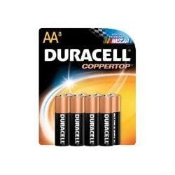 Duracell CopperTop MN1500 battery - 8 x AA type - alkaline