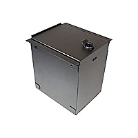 Havis Accessory Pocket With Hinged Lid & Lock - mounting component
