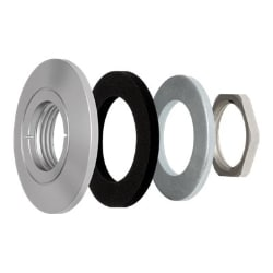 AXIS F8212 Trim Ring - camera lens lock ring