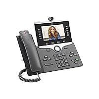 Cisco IP Phone 8865 - IP video phone - with digital camera, Bluetooth inter
