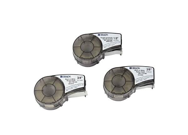 Brady BMP21 - label tape kit - 3 roll(s)