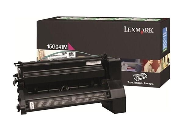 Lexmark Return Program 15G041M Magenta Toner Cartridge