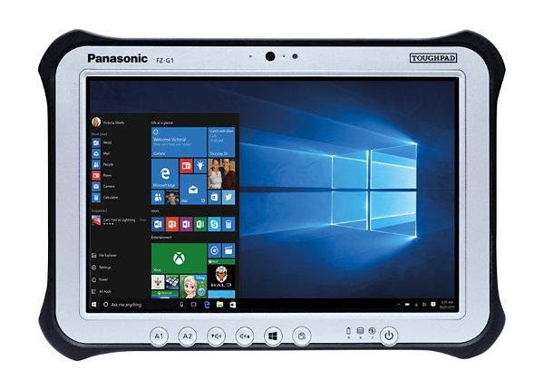 "Panasonic Toughpad FZ-G1 10.1"" Core i5-7300U 8GB RAM 256GB SSD Win 10 Pro"