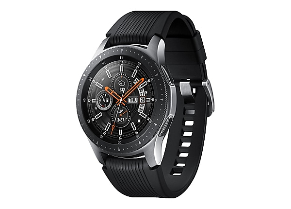 Samsung Galaxy Watch - argent - montre intelligente avec bande - 4 Go