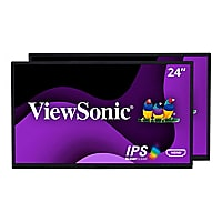 ViewSonic Dual Pack Head-Only VG2448_H2 - LED monitor - Full HD (1080p) - 2