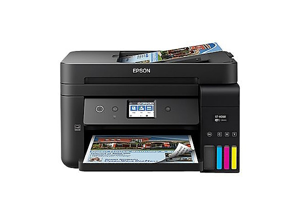 Epson WorkForce ST-4000 EcoTank Color MFP Supertank Printer, Penny Shipping