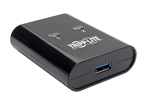Tripp Lite 2-Port 2 to 1 USB 3.0 Peripheral Sharing Switch SuperSpeed