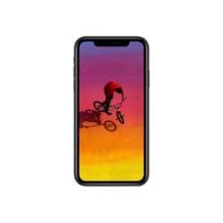 Apple iPhone XR - black - 4G - 64 GB - CDMA / GSM - smartphone