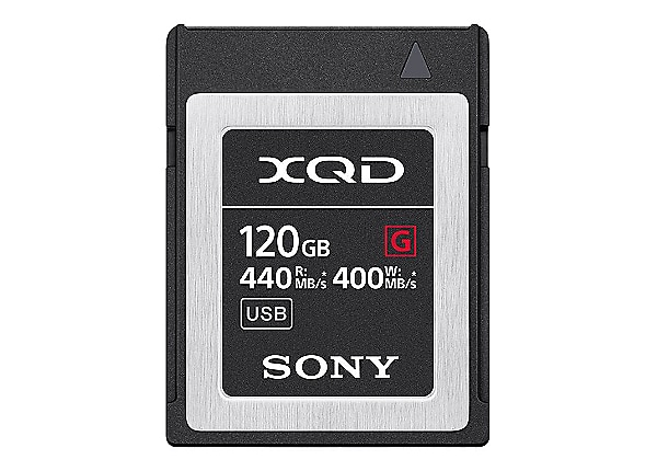 Sony G-Series QD-G120F - flash memory card - 120 GB - XQD