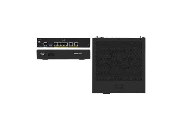 Cisco Integrated Services Router 921 - routeur - Ordinateur de bureau