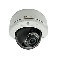 ACTi 2MP IR Outdoor Dome IP Security Camera with Vari-Focal Lens