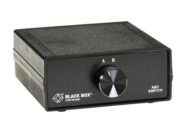 Black Box DB9 Switch ABC - 2 ports