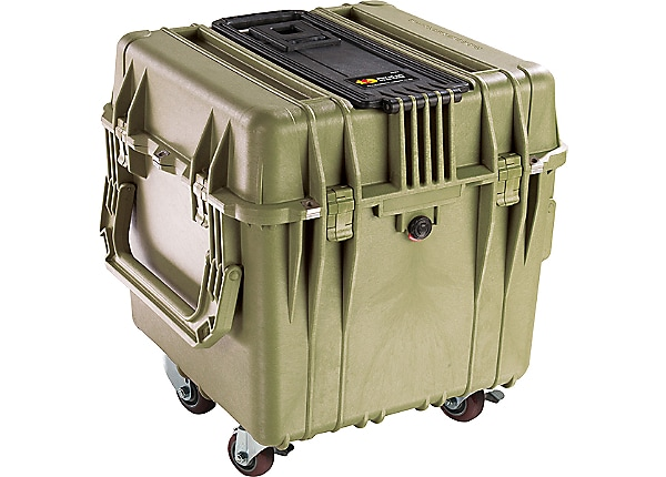 Pelican 0340 Protector Cube Case with Foam - Olive Drab Green
