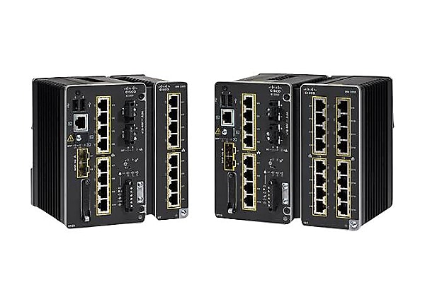 Cisco Catalyst IE3300 Rugged Series - Network Essentials - switch - 10 port