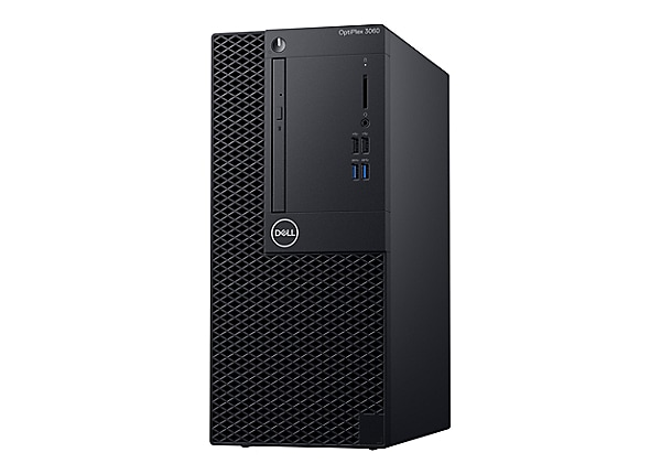 Dell OptiPlex 3060 - MT - Core i3 8100 3.6 GHz - 4 GB - 500 GB