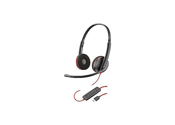Poly Blackwire C3220 USB-C - headset