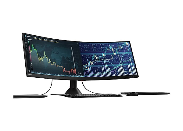 Lenovo ThinkVision P44w-10 - écran LED - 43.4""