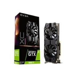 EVGA GeForce GTX 1660 Ti XC Ultra GAMING - graphics card - GF GTX 1660 Ti -