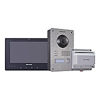 Hikvision DS-KIS701 - video intercom system - wired